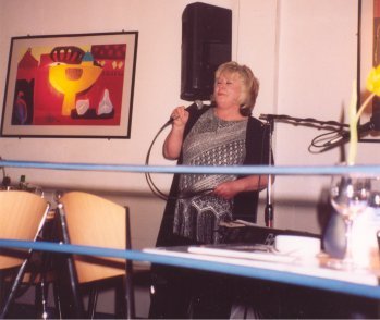 Gill is a regular performer at the Pizza Express, Southend